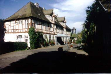 Dasalte Schloss (Hofseite)